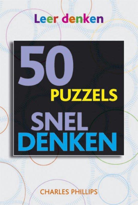 Snel denken in 50 puzzels - Vitataal  