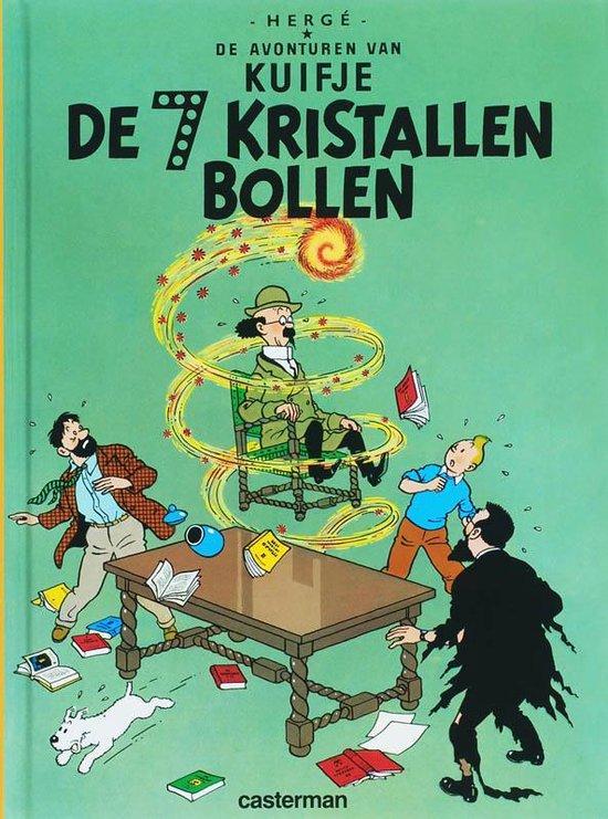 Cover van het boek 'De zeven kristallen bollen Kuifje a5'