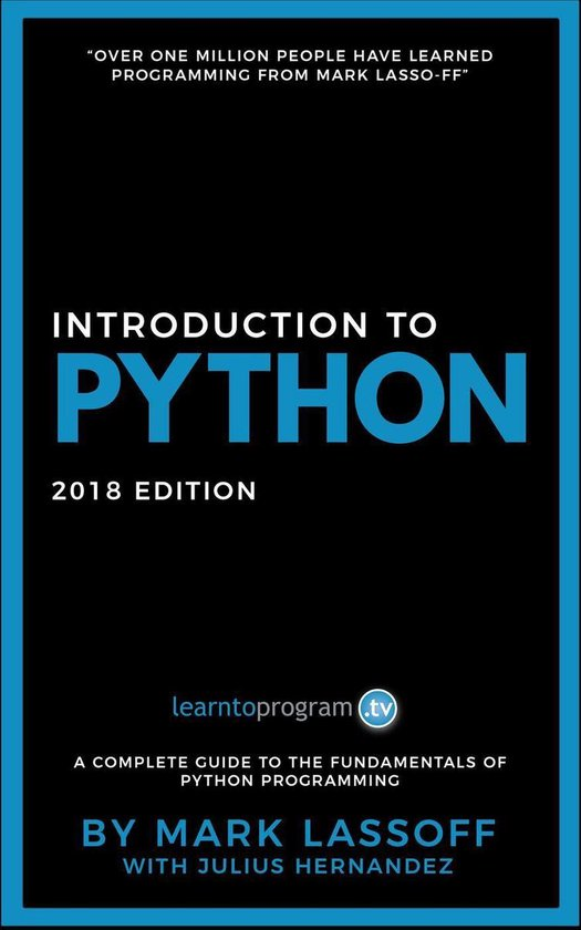 Introduction to Python 2018 Edition