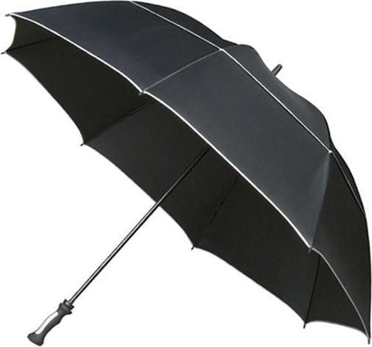 Falcone XXL Stormparaplu Ø 140cm - Zwart