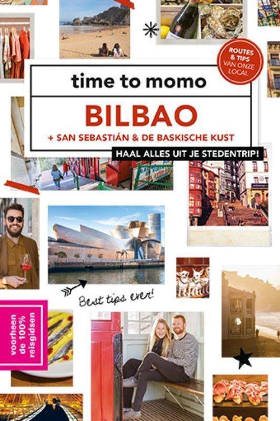 Boek cover Time to momo  -   Bilbao, San Sebastián & de Baskische kust van Emmie Declerck (Paperback)