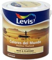 Levis Colores del Mundo Muur- & Plafondverf - Positive Orchid - Mat - 2,5 liter