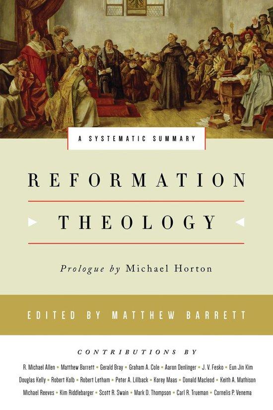 Boek cover Reformation Theology van Michael Horton (Onbekend)