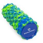#DoYourFitness - Fascia rol - »Ishana« - foam roller voor  zelfmassage - Afmetingen: L34cm x D14cm - blauw