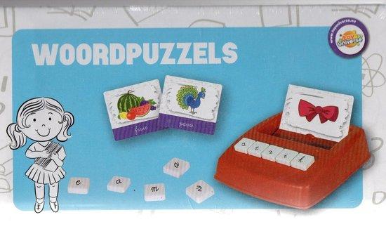 Afbeelding van het spel educatieve woordpuzzel box vanaf 5 jaar