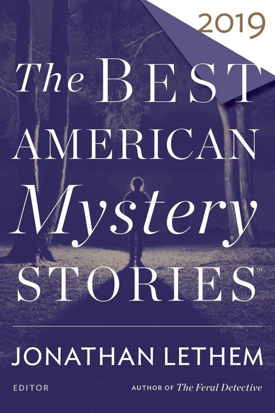 Omslag van The Best American Mystery Stories 2019