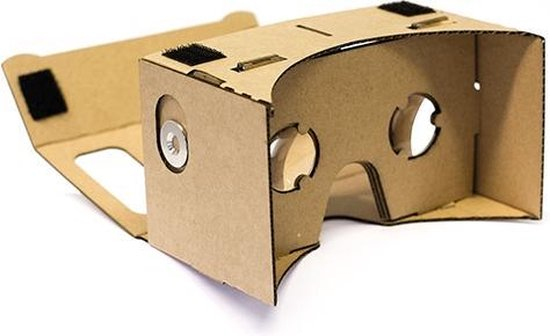 Bol Com Google Cardboard Virtual Reality 3d Bril Headset 6 Inch