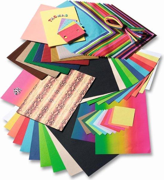 Folia Knutsel Papierpakket Uitgebreid A040076 - 323 delig