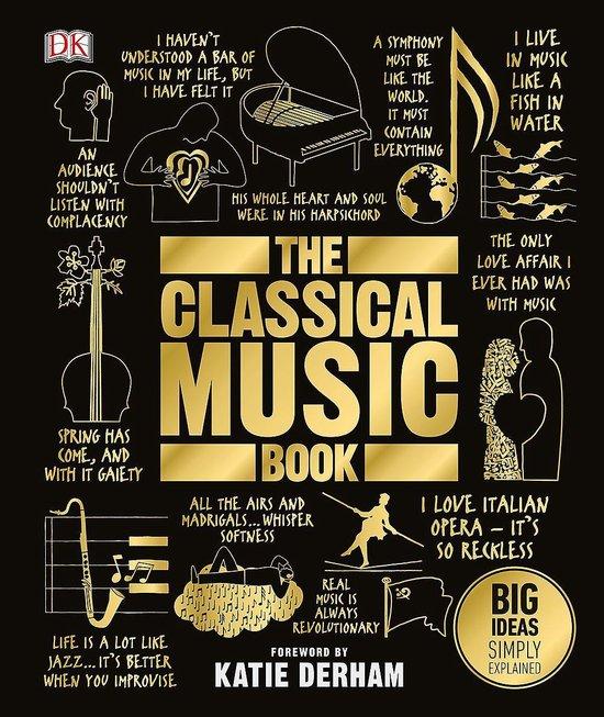 Boek cover The Classical Music Book van Dk (Hardcover)