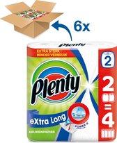 Plenty Extra Long keukenpapier - 12 rollen - kwartaal voorraad