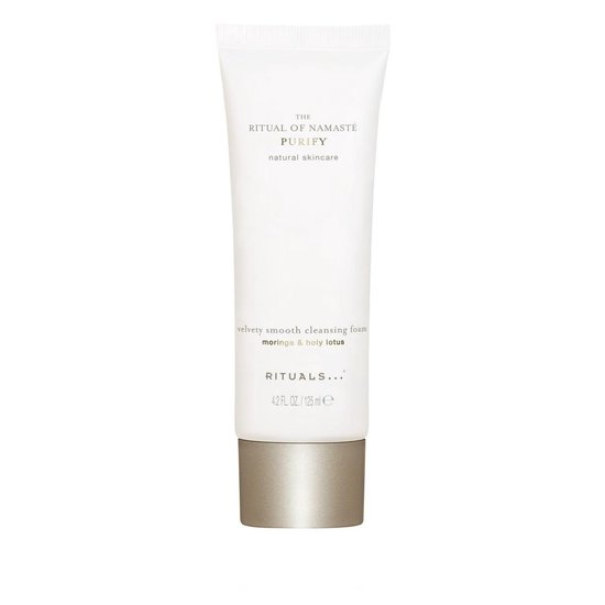 RITUALS The Ritual of Namasté Velvety Smooth Cleansing Foam, Purify Collection, 125 ml