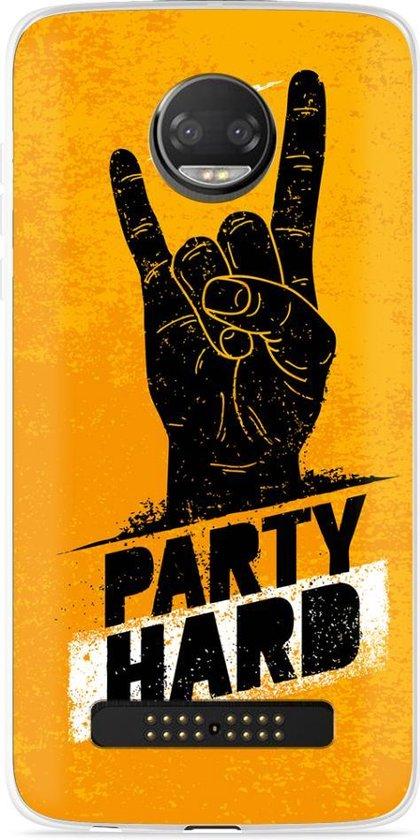 Motorola Z2 Force Hoesje Party Hard 2.0