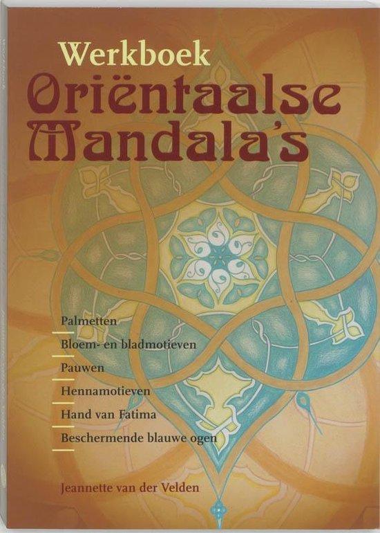 Werkboek Orientaalse mandala's - J. van der Velden pdf epub