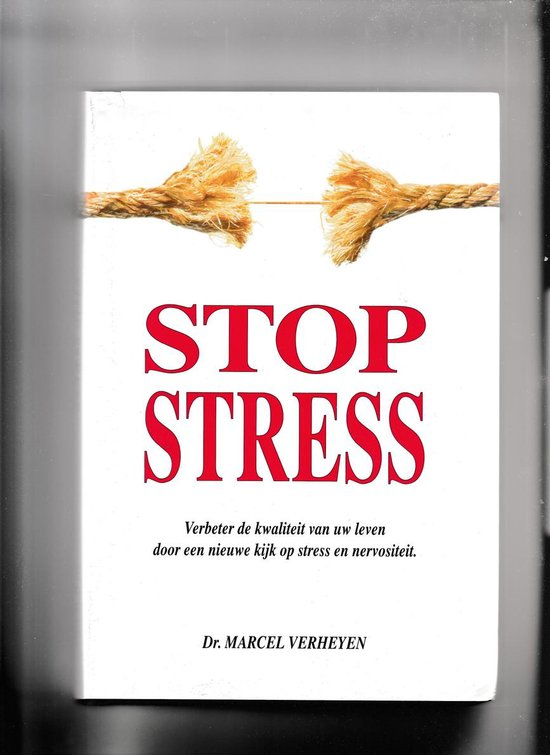 Stop stress - M. Verheyen |