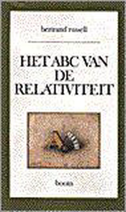 Het ABC der relativiteit - Bertrand Russell | Readingchampions.org.uk