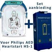 Philips HeartStart HS1 AED elektroden + accu