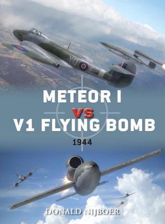 Boek cover Meteor I vs V1 Flying Bomb van Donald Nijboer (Paperback)