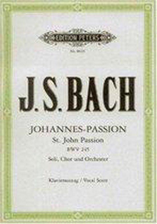 Boek cover Johannes-Passion BWV 245 / URTEXT van Johann Sebasti Bach (Paperback)