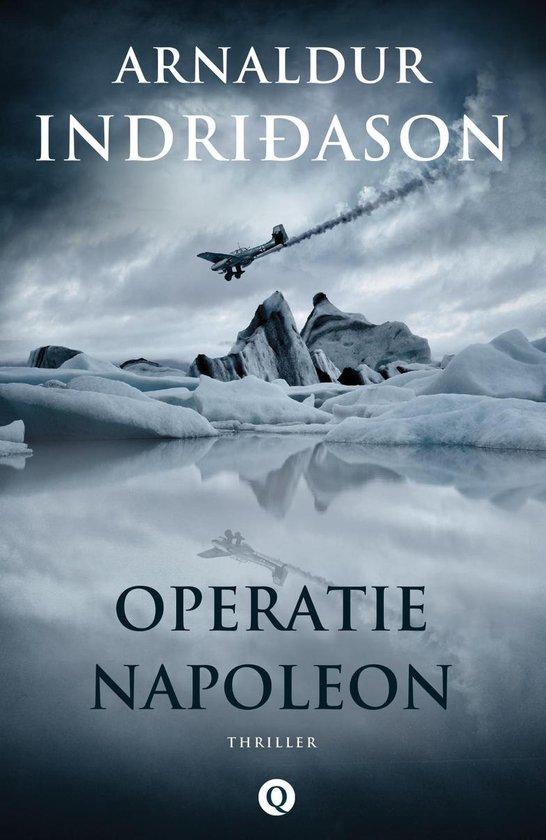 Boek cover Operatie Napoleon van Arnaldur Indridason (Onbekend)