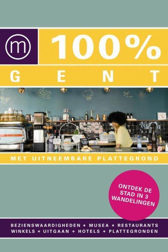 Cover van het boek '100% Gent' van A. Ryckaert