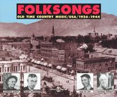 Folksongs - Old Time Country Music