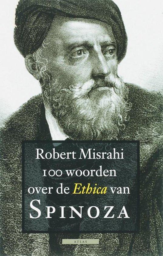 Cover van het boek '100 woorden over de Ethica van Spinoza' van R. Misrahi en  Misrahi