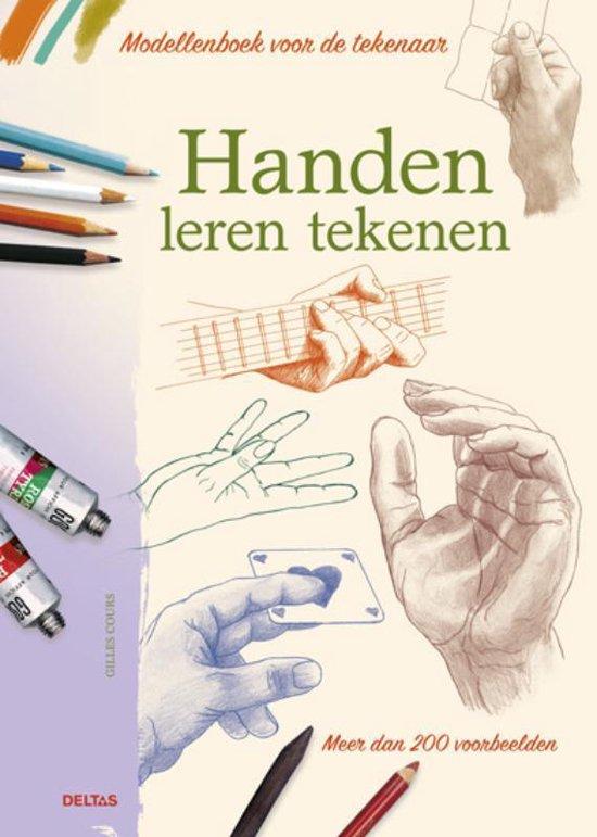 Modellenboek voor de tekenaar - Handen leren tekenen - Gilles Cours  