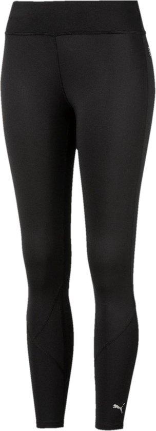 PUMA Lite_Long Tight W Sportlegging Dames - PUMA Black - Maat XL