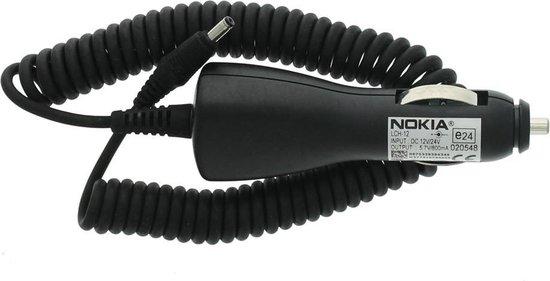 0,8A Originele Nokia autolader, geschikt voor Nokia 6110, 6130, 6150, 6170, 6210, 6220, 6230 / 6230i, 6250, 6260, 6310 / 6310i