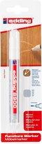 Edding 8900 meubelmarker, 1.5-2mm ronde punt, grijs, per stuk in blisterverpakking