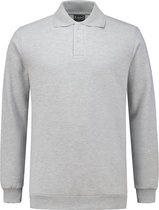 Workman Polosweater Outfitters Rib Board - 9342 grijs melange - Maat 3XL
