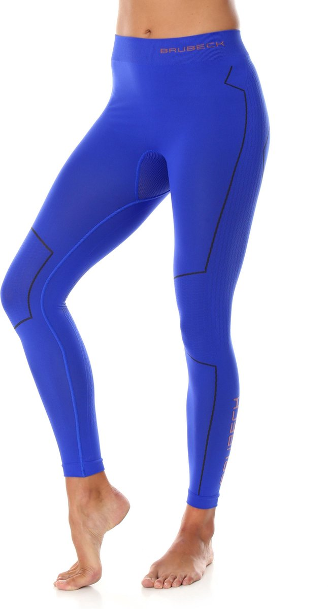Dames Thermobroek - Thermokleding - met Nilit® Innergy-Kobaltblauw-XS