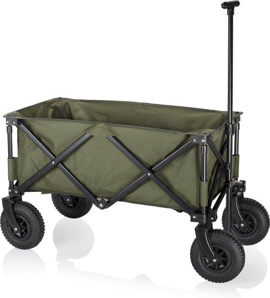 Product: Campart HC-0915 Opvouwbare bolderwagen – Legergroen, van het merk Campart