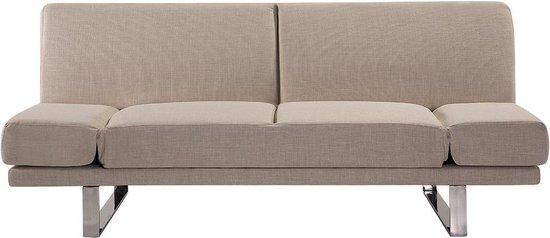 Beliani York - Slaapbank - beige - polyester