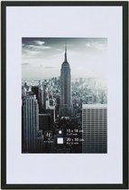 Fotolijst - Henzo - Manhattan - Fotomaat 20x30 - Zwart
