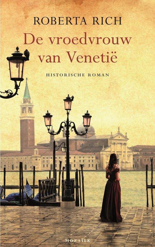 Boek cover De vroedvrouw van Venetië van Roberta Rich (Onbekend)