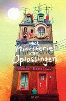 Boek cover Het ministerie van Oplossingen van Sanne Rooseboom (Hardcover)