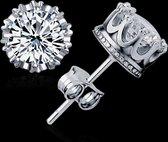 Victorious Zilverkleurig Australisch Bergkristal Oorbellen – Dames Oorbellen