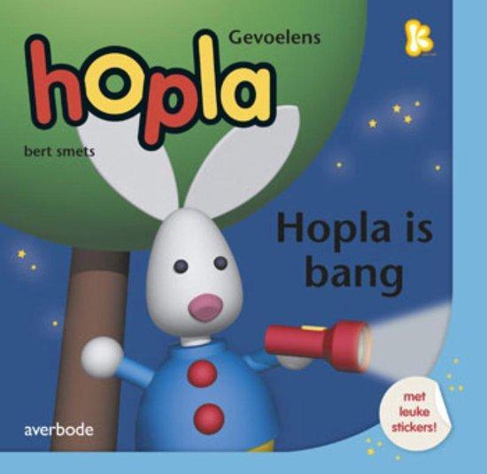 Cover van het boek 'Hopla is bang'
