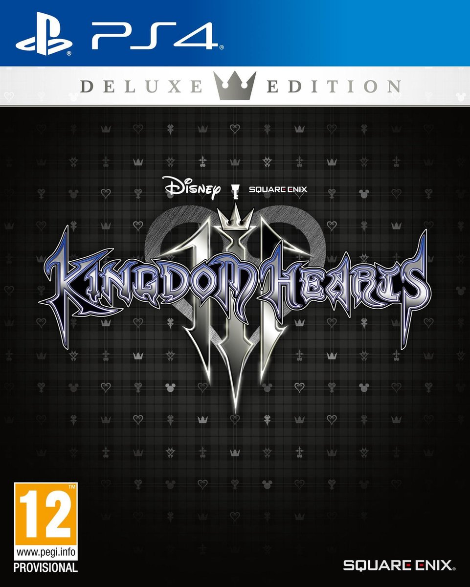 Kingdom Hearts III - Deluxe Edition - PS4 - Square Enix