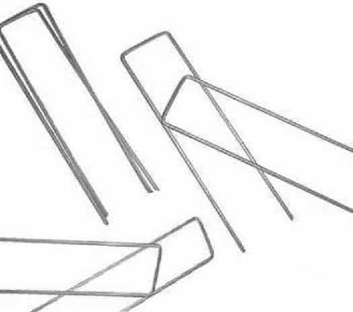kunstgraspennen, gronddoekpennen, gronddoekpennen, antiworteldoek pennen, 10 st , 20 x 5 x 20 cm