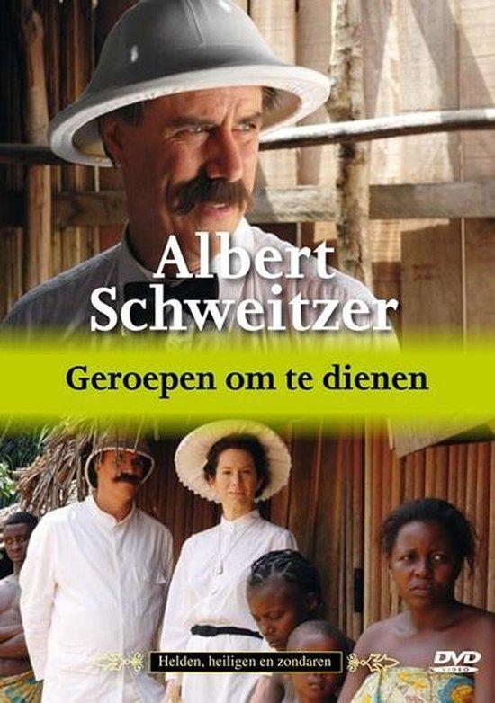 Cover van de film 'Albert Schweitzer - Geroepen Om Te Dienen'