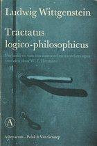 Boek cover Tractatus logico philosophicus van L. Wittgenstein