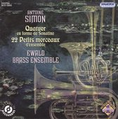 Anton Simon: Quatuor en forme de Sonatine; 22 Petits morceaux