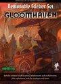 Afbeelding van het spelletje Gloomhaven Removable Sticker Set - EN