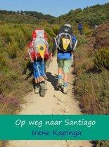 Boek cover Op weg naar Santiago van Mineke Straijer