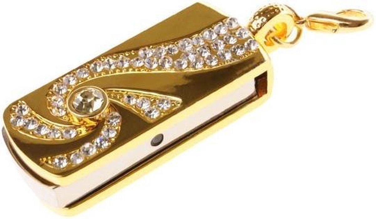 Ulticool USB-stick Diamant - 16 GB - Beauty - Goud - Ulticool