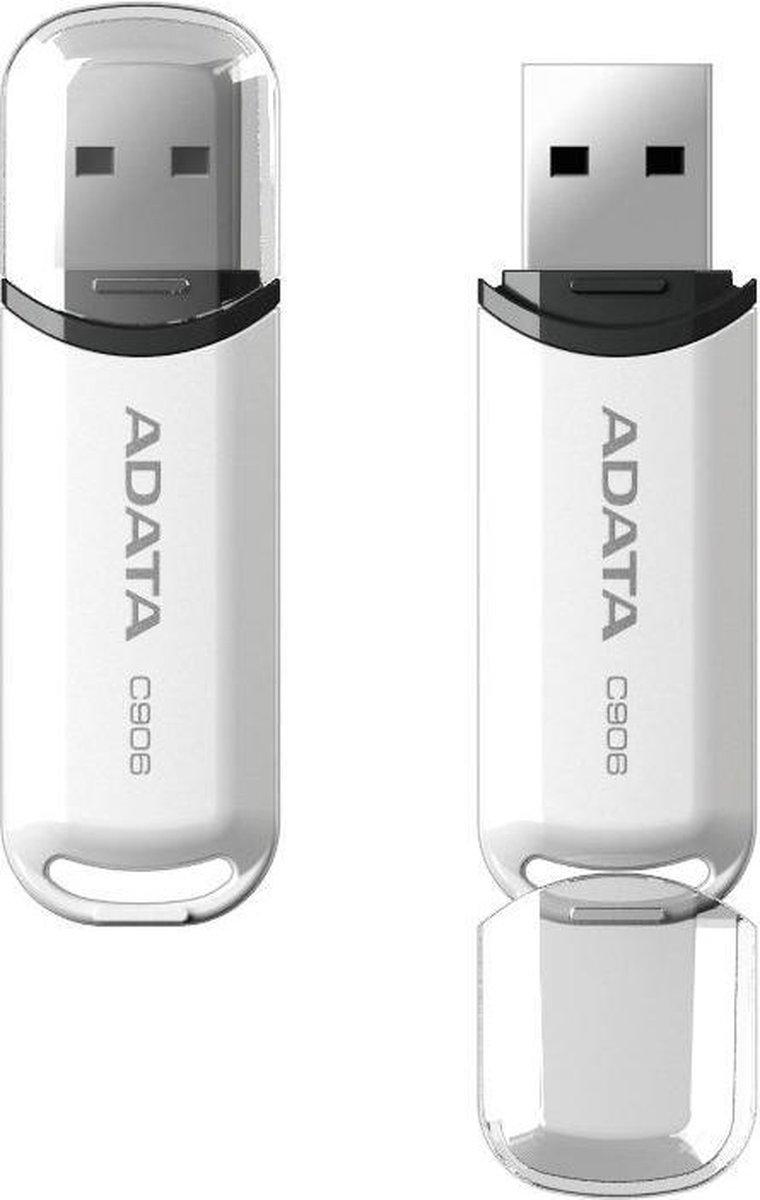 ADATA Classic USB 2.0 C906 - USB-stick - 16 GB Wit - ADATA