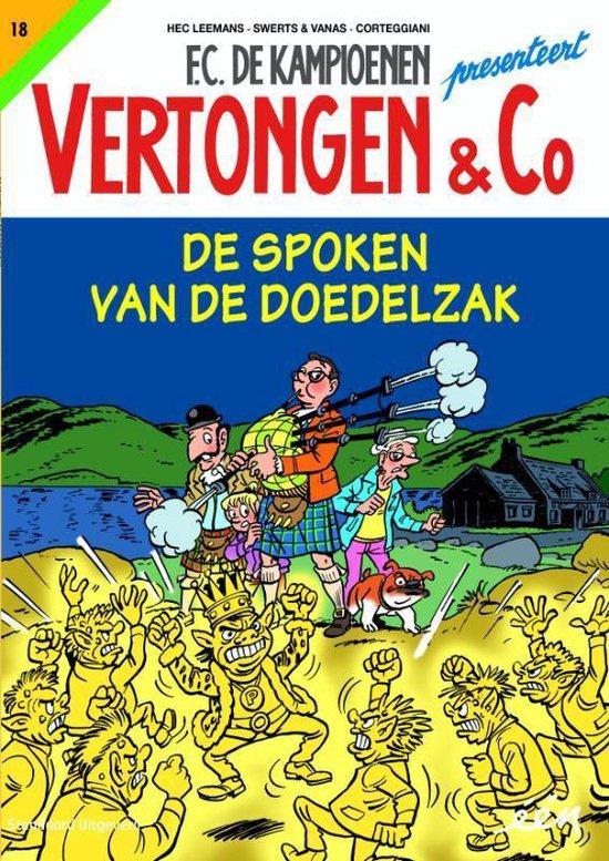 Vertongen & Co 18 - De spoken van de doelzak - Hec Leemans |
