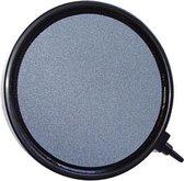 Luchtsteen disk 13 cm grijs